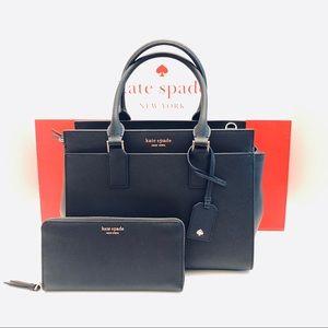 ♠️Kate Spade ♠️-  Medium Satchel and Wallet Set